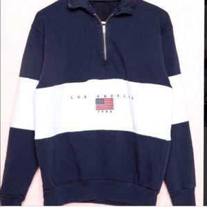Brandy Melville zip up sweatshirt.